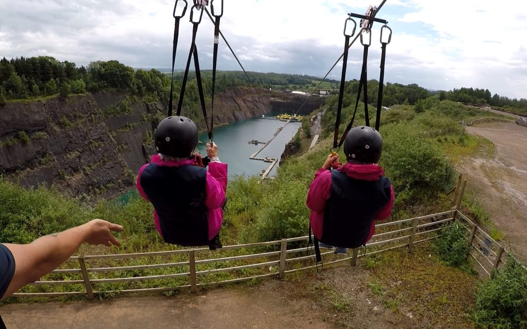 Zip Wire Success!