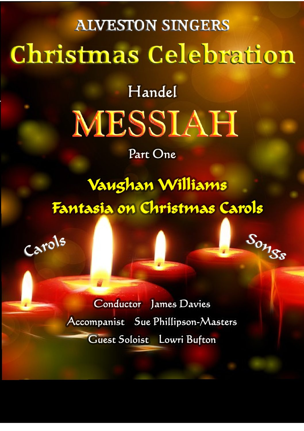 Alveston Singers Christmas Celebration!