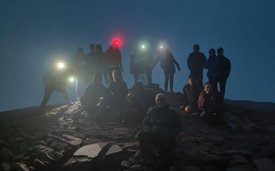 Pen-Y-Fan Night Hike Success