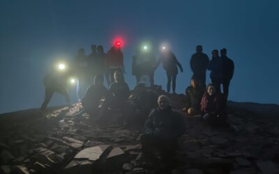 Pen-Y-Fan Night Hike Success